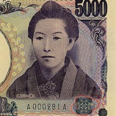 Higuchi Ichiyo 5000 yen