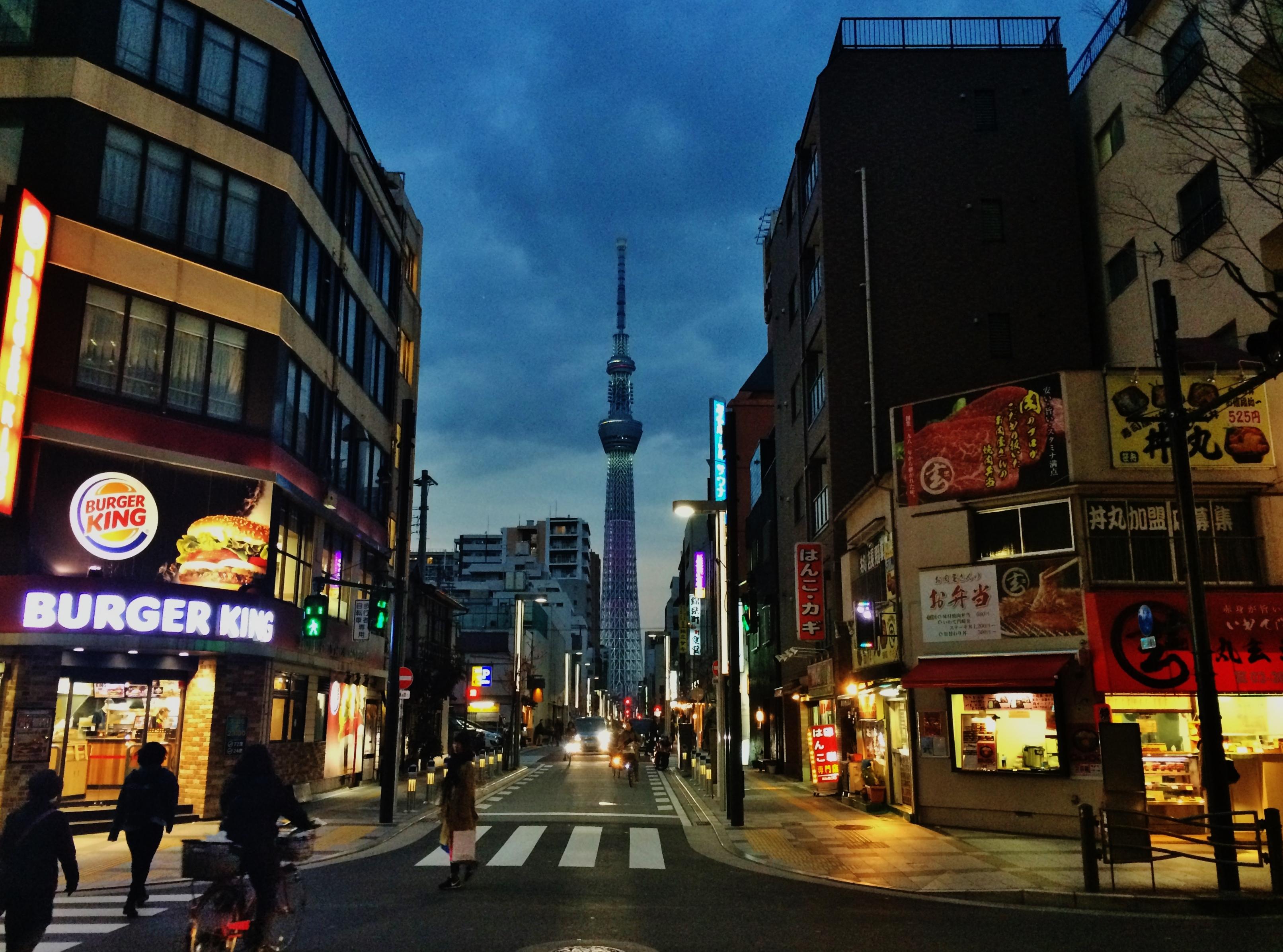 Tokyo neighborhood sketch: Kinshicho 錦糸町